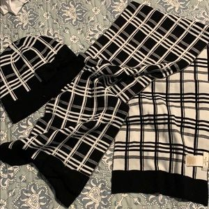 Hat and scarf set from Kate Spade NWOT